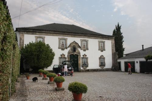Casa Grande de Casfreires  - entrada